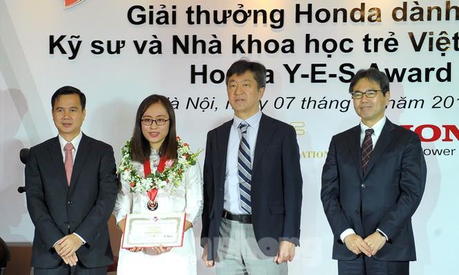 10 kỹ sư, nhà khoa học trẻ nhận giải thưởng Honda Y-E-S - ảnh 2