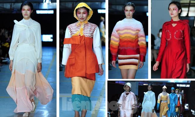 Sinh viên thiết kế thời trang phản ánh giao thông, môi trường - ảnh 6