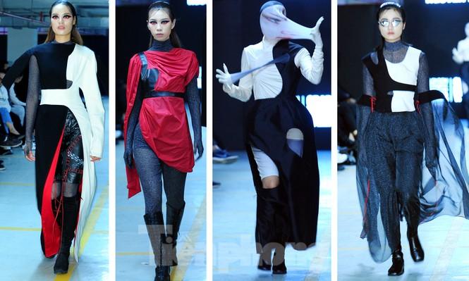 Sinh viên thiết kế thời trang phản ánh giao thông, môi trường - ảnh 14