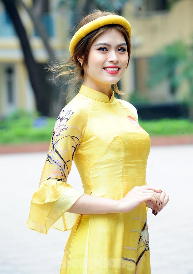 Rộn ràng nữ sinh Hà thành ứng thí Hoa khôi Sinh viên Việt Nam 2020 - ảnh 3