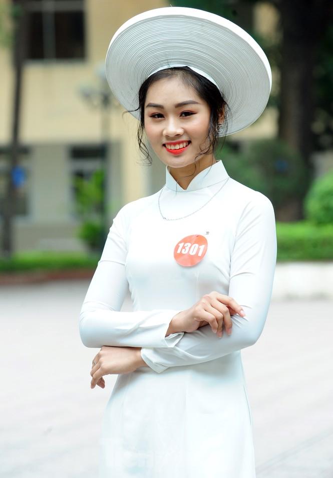 Rộn ràng nữ sinh Hà thành ứng thí Hoa khôi Sinh viên Việt Nam 2020 - ảnh 5