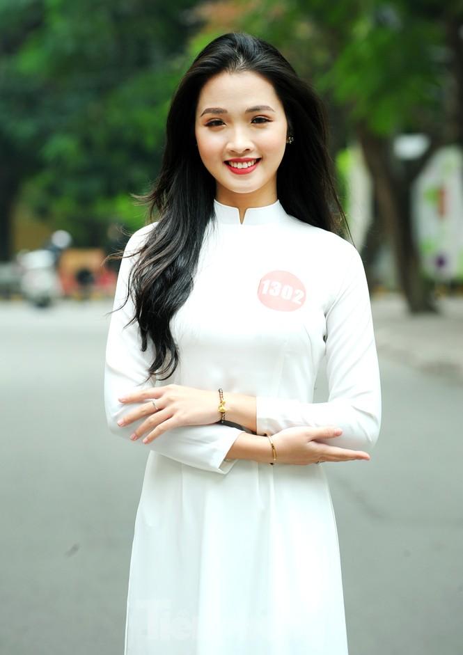 Rộn ràng nữ sinh Hà thành ứng thí Hoa khôi Sinh viên Việt Nam 2020 - ảnh 4