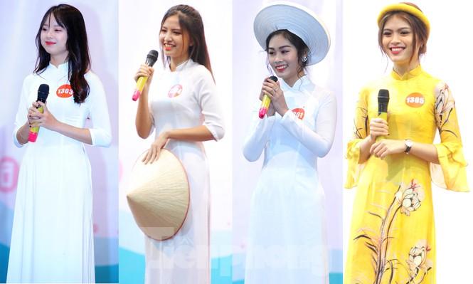 Rộn ràng nữ sinh Hà thành ứng thí Hoa khôi Sinh viên Việt Nam 2020 - ảnh 8