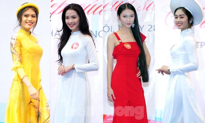 Rộn ràng nữ sinh Hà thành ứng thí Hoa khôi Sinh viên Việt Nam 2020 - ảnh 7
