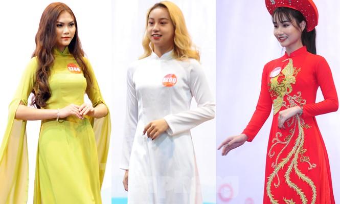 Rộn ràng nữ sinh Hà thành ứng thí Hoa khôi Sinh viên Việt Nam 2020 - ảnh 6