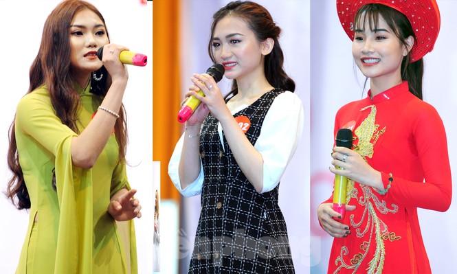 Rộn ràng nữ sinh Hà thành ứng thí Hoa khôi Sinh viên Việt Nam 2020 - ảnh 9