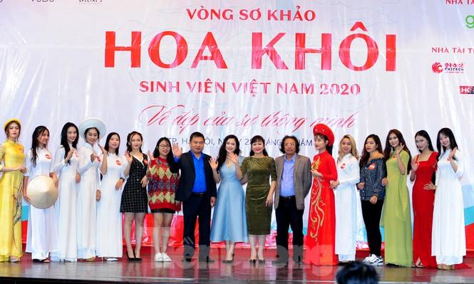 Rộn ràng nữ sinh Hà thành ứng thí Hoa khôi Sinh viên Việt Nam 2020 - ảnh 1