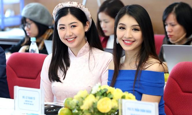 Người đẹp Lê Thanh Tú gợi cảm đầm xanh, Phạm Ngọc Linh duyên dáng áo dài - ảnh 6
