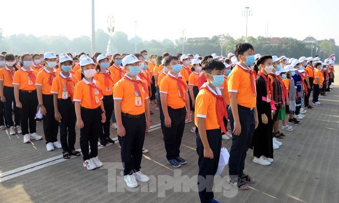 344 đại biểu Đại hội Cháu ngoan Bác Hồ toàn quốc lần thứ IX báo công dâng Bác - ảnh 6