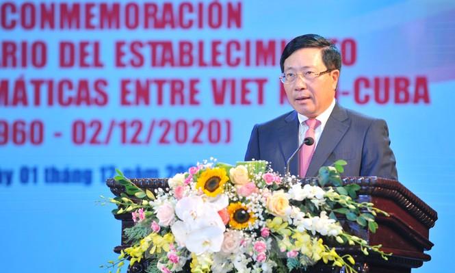 Kỷ niệm 60 năm thiết lập quan hệ ngoại giao Việt Nam - Cuba - ảnh 6