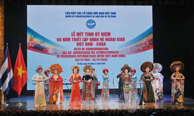Kỷ niệm 60 năm thiết lập quan hệ ngoại giao Việt Nam - Cuba - ảnh 2