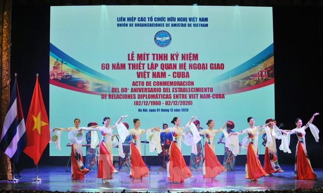 Kỷ niệm 60 năm thiết lập quan hệ ngoại giao Việt Nam - Cuba - ảnh 1