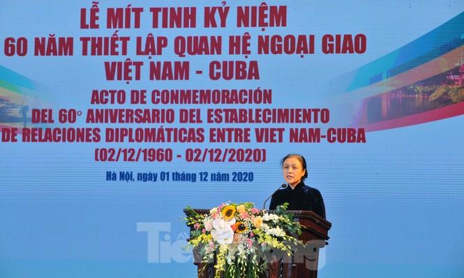 Kỷ niệm 60 năm thiết lập quan hệ ngoại giao Việt Nam - Cuba - ảnh 4