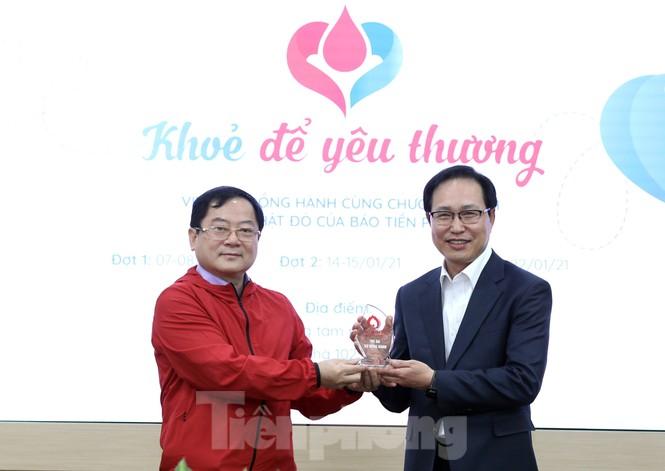 Samsung Thái Nguyên sôi động hiến máu hưởng ứng chương trình Chủ nhật Đỏ 2021 - ảnh 3