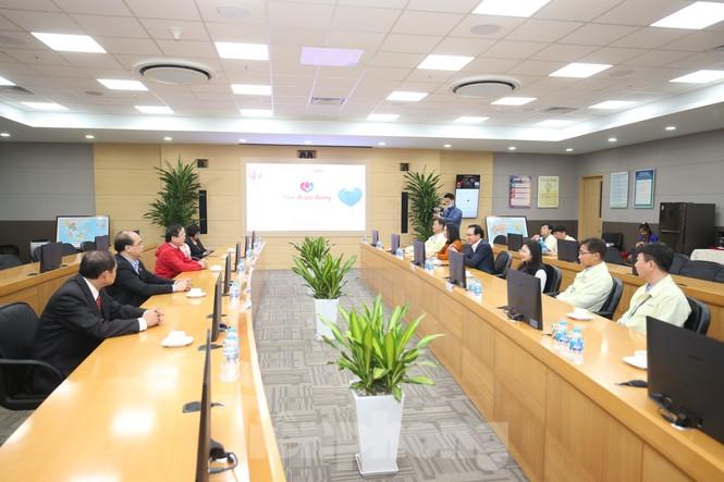 Samsung Thái Nguyên sôi động hiến máu hưởng ứng chương trình Chủ nhật Đỏ 2021 - ảnh 1