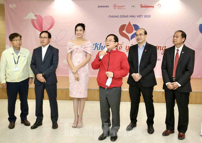 Samsung Thái Nguyên sôi động hiến máu hưởng ứng chương trình Chủ nhật Đỏ 2021 - ảnh 2