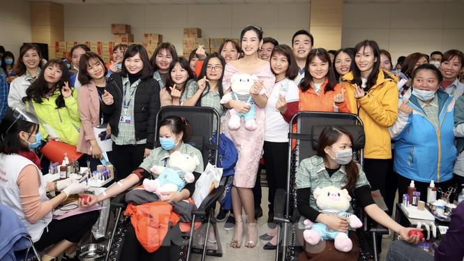 Samsung Thái Nguyên sôi động hiến máu hưởng ứng chương trình Chủ nhật Đỏ 2021 - ảnh 12
