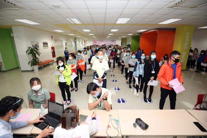 Samsung Thái Nguyên sôi động hiến máu hưởng ứng chương trình Chủ nhật Đỏ 2021 - ảnh 4