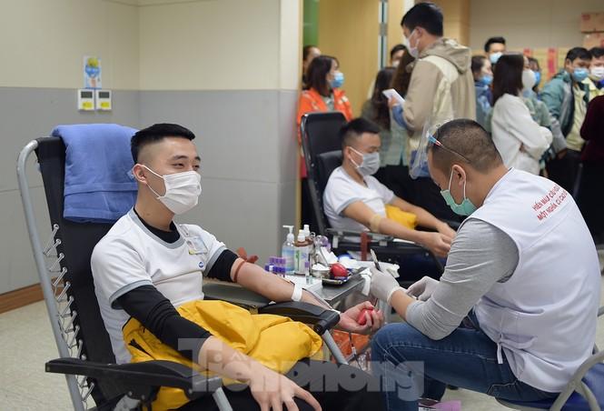 Samsung Thái Nguyên sôi động hiến máu hưởng ứng chương trình Chủ nhật Đỏ 2021 - ảnh 6