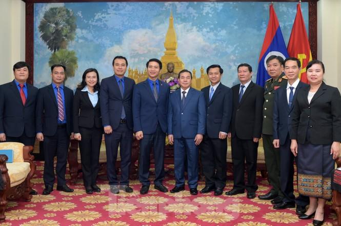 Ban Bí thư T.Ư Đoàn làm việc với Đại sứ quán Lào về hợp tác thanh niên - ảnh 4