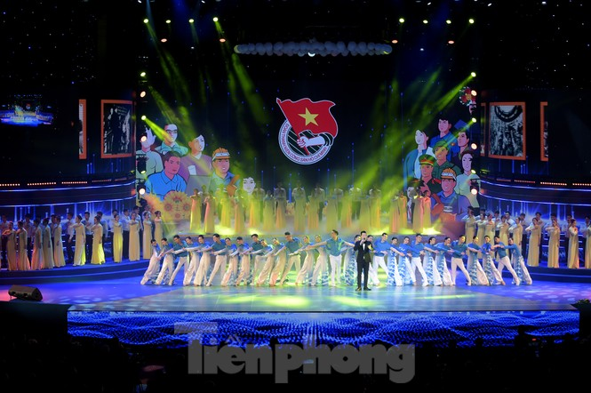 Những hình ảnh ấn tượng tại Lễ kỷ niệm 90 năm thành lập Đoàn TNCS Hồ Chí Minh - ảnh 3