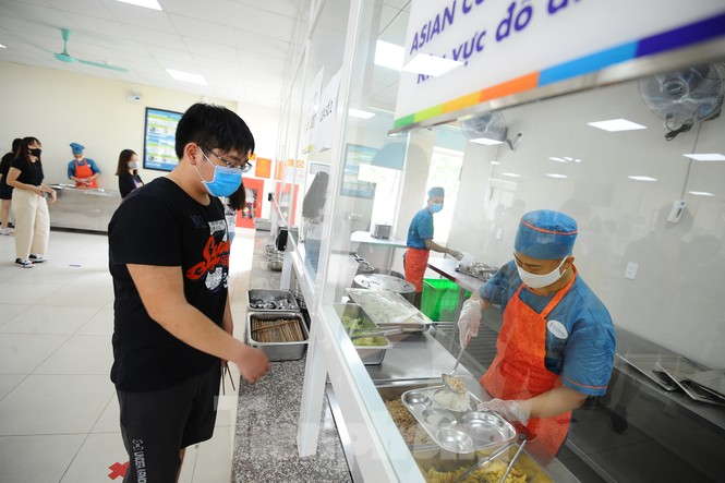 Bữa ăn bán trú của học sinh 'mùa Covid -19' - ảnh 5