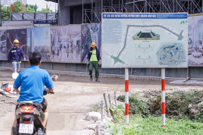 Toàn cảnh tuyến đường trăm tỷ Hà Nội đang triển khai sau 15 năm 'đắp chiếu' - ảnh 10