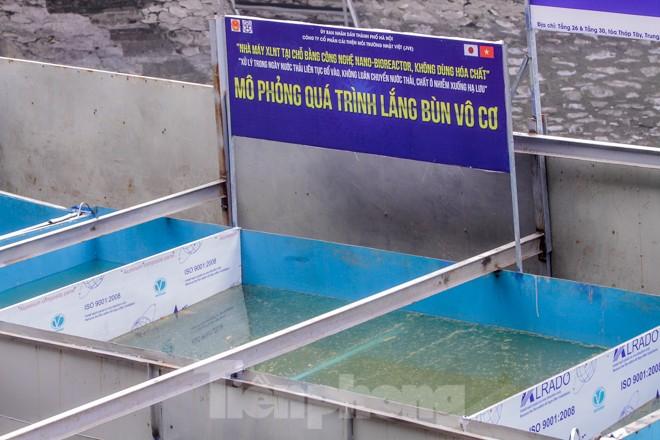 Hé lộ bí mật quy trình xử lý nước sông Tô Lịch bằng 'bảo bối' Nhật - ảnh 4