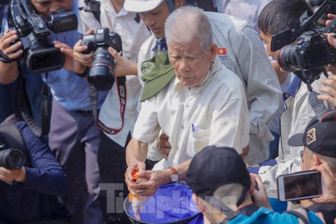 Thả cá Koi Nhật Bản xuống sông Tô Lịch và Hồ Tây - ảnh 5