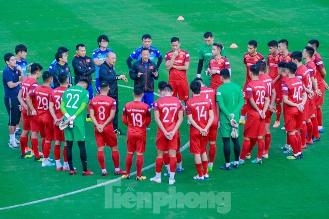 HLV Park Hang Seo bắt đầu tăng tốc 'luyện binh' - ảnh 1