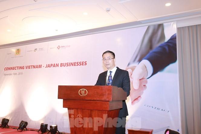 Giao lưu thể thao, kết nối doanh nghiệp Việt Nam - Nhật Bản - ảnh 1