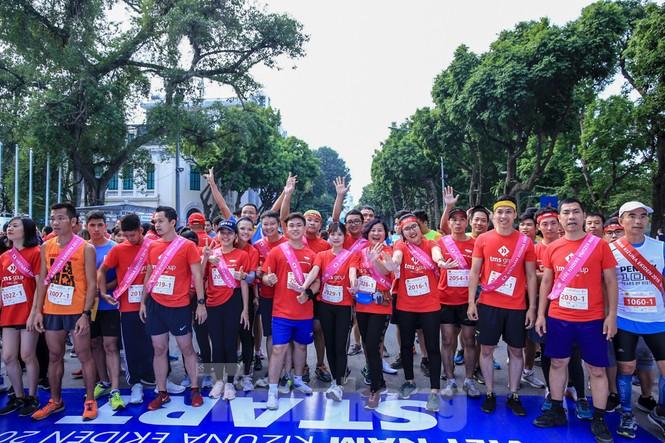 Giải chạy tiếp sức Kizuna Ekiden: 'Chạy vì an toàn giao thông'. - ảnh 1