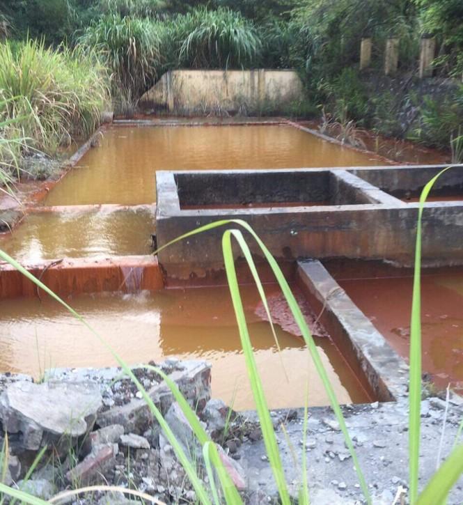 Chủ doanh nghiệp để nước thải nhiễm kim loại đổ ra vịnh Hạ Long nói lỗi Bộ TNMT - ảnh 3
