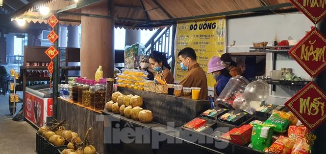 Những hình ảnh khác thường ở Yên Tử trước ngày khai hội - ảnh 8