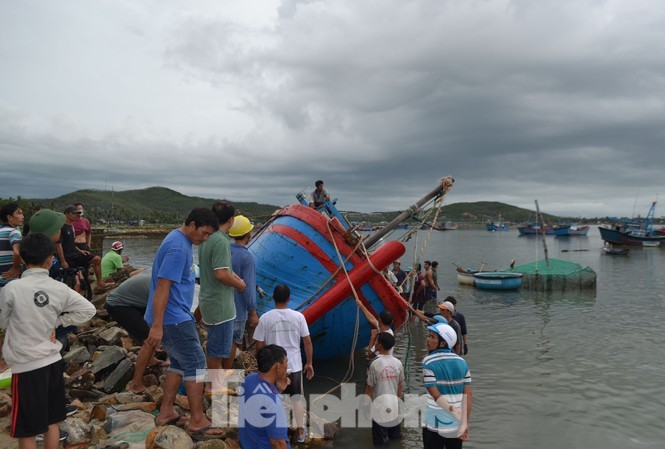 Phú Yên ra công điện cấm biển từ sáng 9/11  - ảnh 1