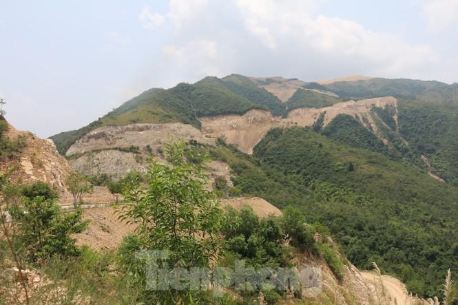 Thu hồi dự án tâm linh trên núi Chín Khúc - ảnh 1