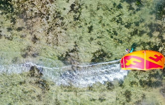 Hàng trăm vận động viên quốc tế thi lướt ván diều trên biển Ninh Chữ - ảnh 3