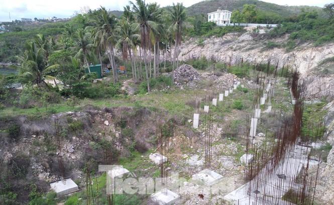 Cận cảnh khu di tích lầu Bảo Đại được chuyển đổi để xây biệt thự, resort - ảnh 6