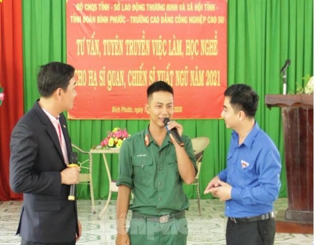 Bộ đội xuất ngũ sẽ được bố trí làm việc tại tập đoàn Thái Lan - ảnh 3