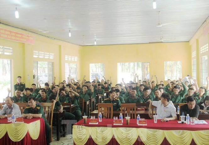 Bộ đội xuất ngũ sẽ được bố trí làm việc tại tập đoàn Thái Lan - ảnh 2