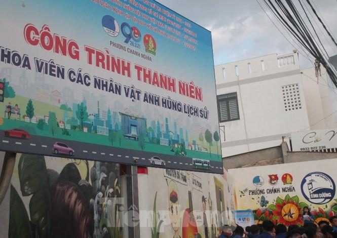Bình Dương: Khánh thành hoa viên các Anh hùng trẻ tuổi - ảnh 2