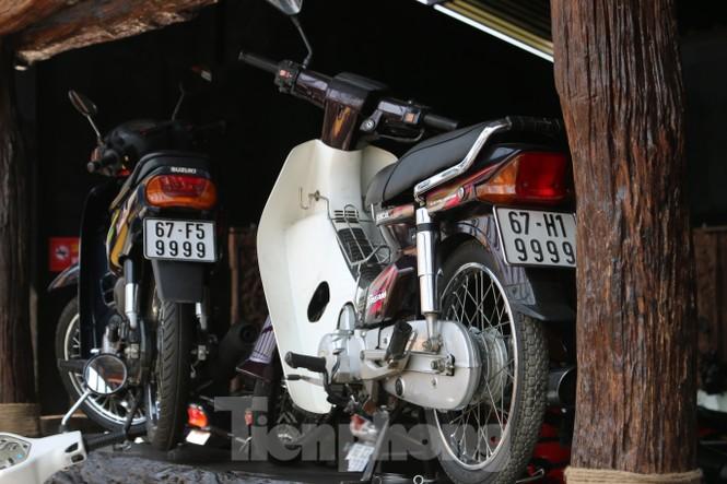Mê mẩn với bộ sưu tập 500 chiếc xe máy biển số 'khủng'  - ảnh 12