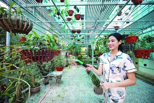 Tết năm nay của gia đình Hoa hậu Đỗ Thị Hà - ảnh 1