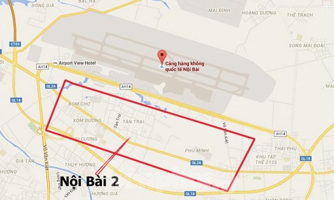 Đề xuất phương án Sân bay Nội Bài nằm 2 bên đường Võ Nguyên Giáp - ảnh 1
