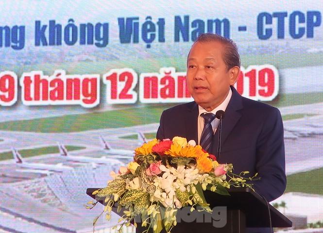 Phó Thủ tướng khởi công nhà ga T2 sân bay Phú Bài - ảnh 1