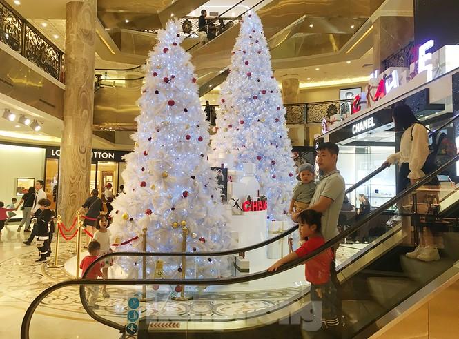 Trung tâm thương mại, siêu thị Hà Nội trang hoàng đón mùa Giáng sinh - ảnh 9