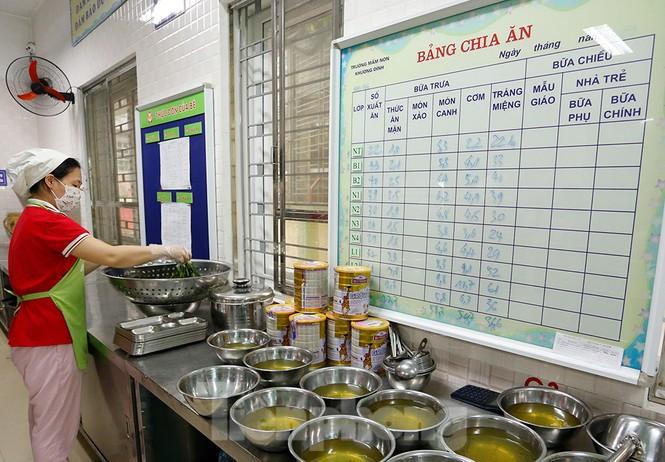 Bữa ăn bán trú đầu tiên của học sinh sau thời gian dài nghỉ học có gì đặc biệt? - ảnh 12