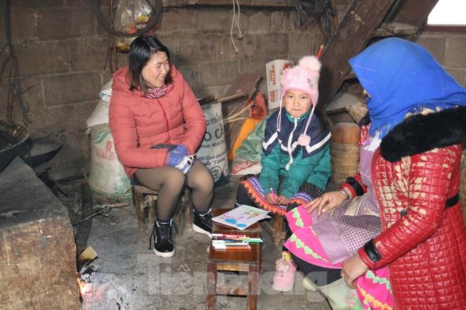 Xuất hiện băng tuyết tại xã biên giới Mèo Vạc - Hà Giang - ảnh 13