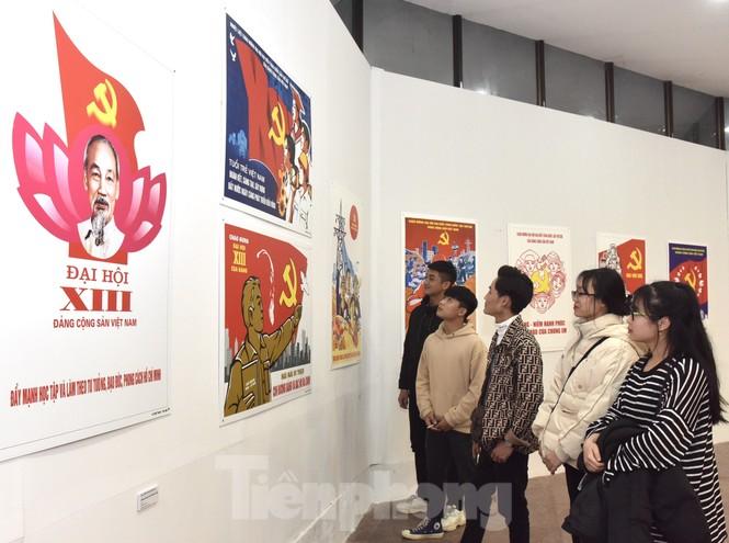 Những hình ảnh đặc biệt tại triển lãm 'Đảng ta thật là vĩ đại' - ảnh 4