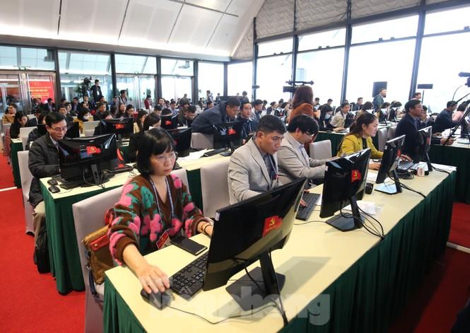 Bên trong Trung tâm báo chí phục vụ Đại hội XIII của Đảng - ảnh 4